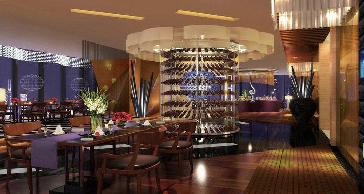 成都四星级酒店装修餐厅效果图