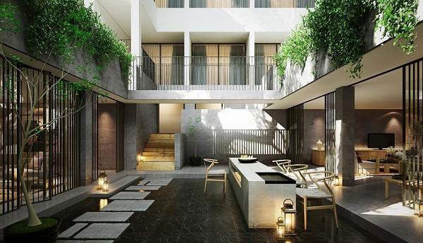 成都名宿酒店装修设计