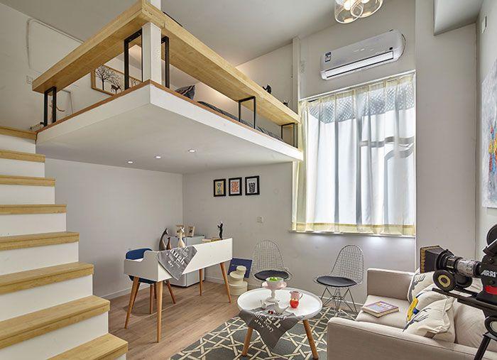公寓式酒店装修设计效果图