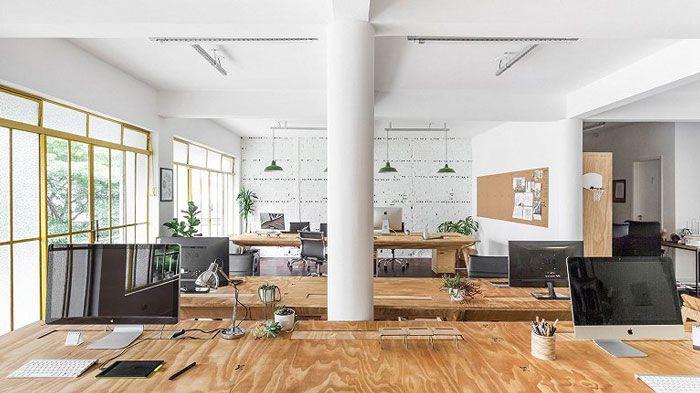 工作室简单办公位