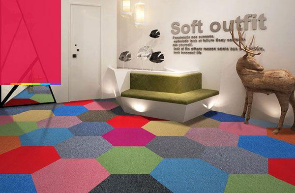 办公室装修地毯装饰