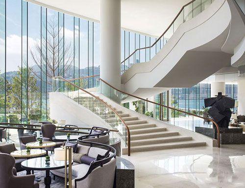 成都酒店楼梯装修设计