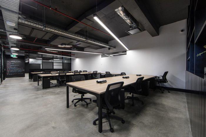 轻工业风格办公室装修效果图