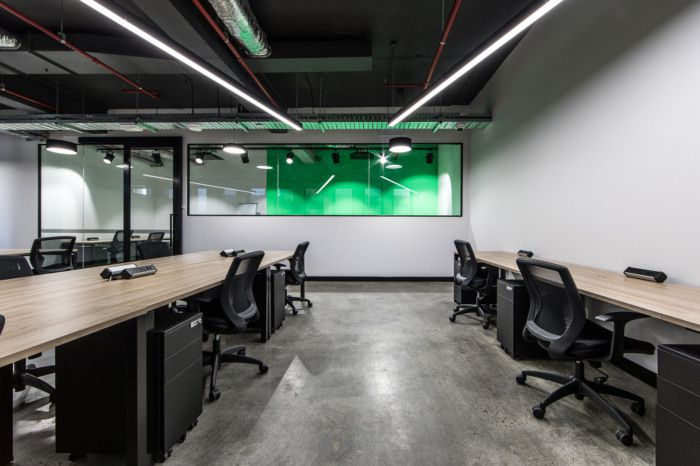 公司二楼办公室空间