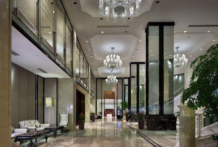 酒店大堂空间装修效果图