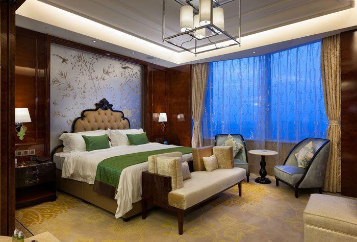 酒店豪华客房装修效果图