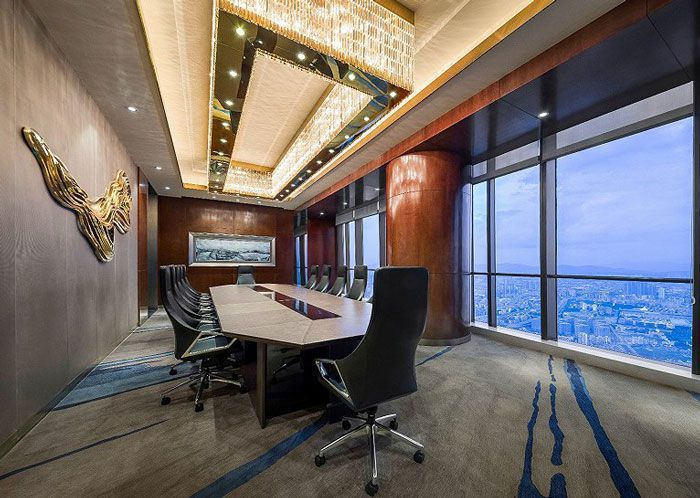 集团公司会议室装修效果图