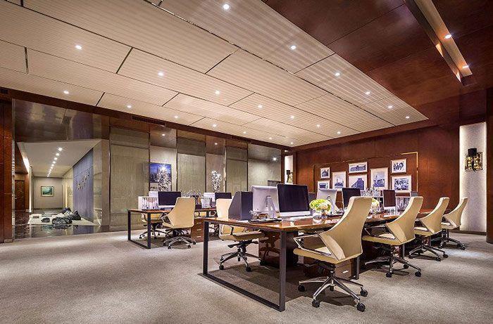 公司职员办公空间设计