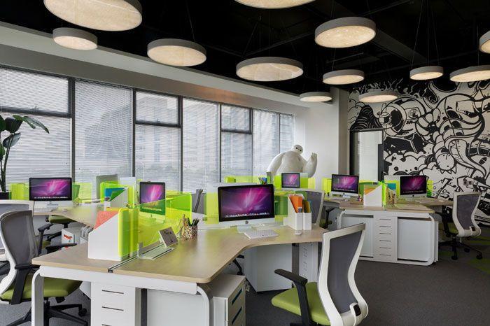 设计公司办公位