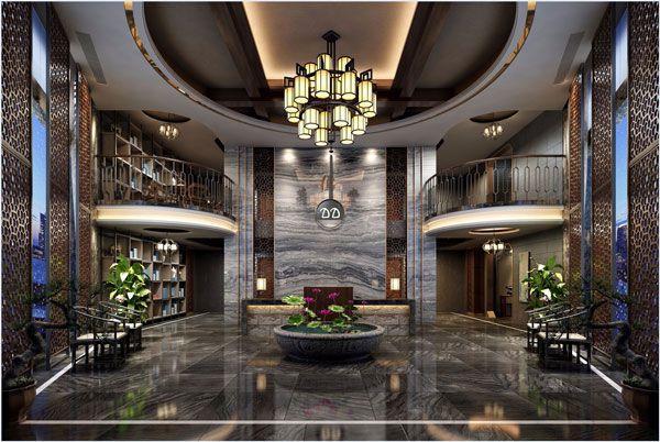 酒店大厅设计方案