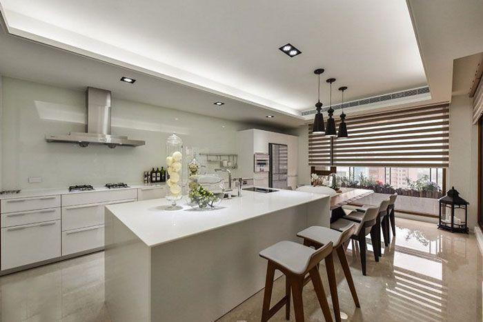 现代风格公寓酒店装修厨房