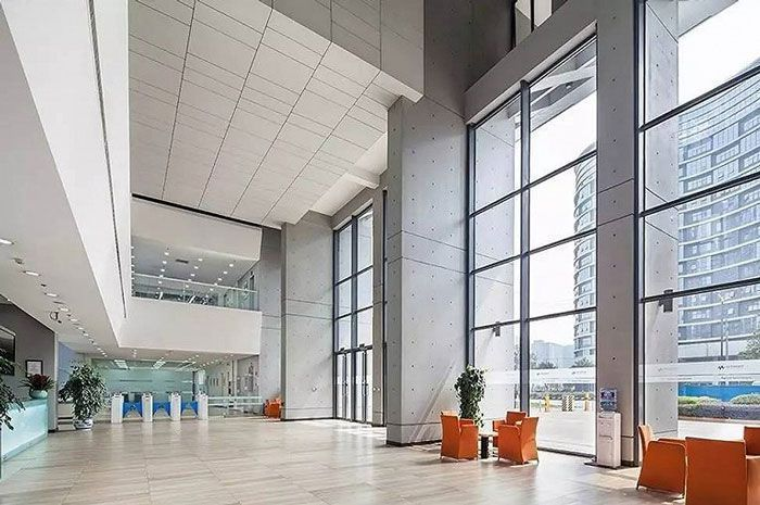 办公楼装修大堂空间