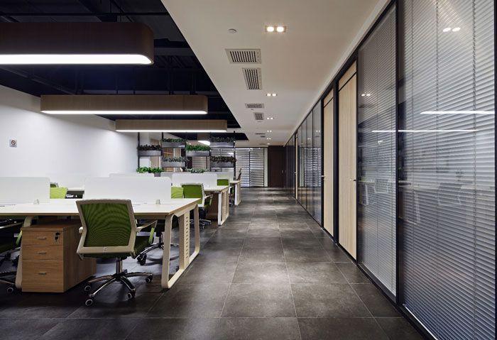 办公空间装修设计空间过道