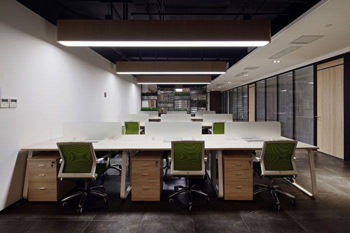 办公空间装修设计办公大厅