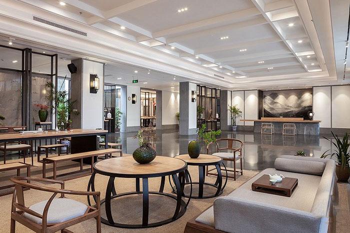 新中式酒店效果图