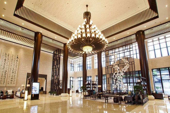 假日酒店室内装修效果图 - 大堂