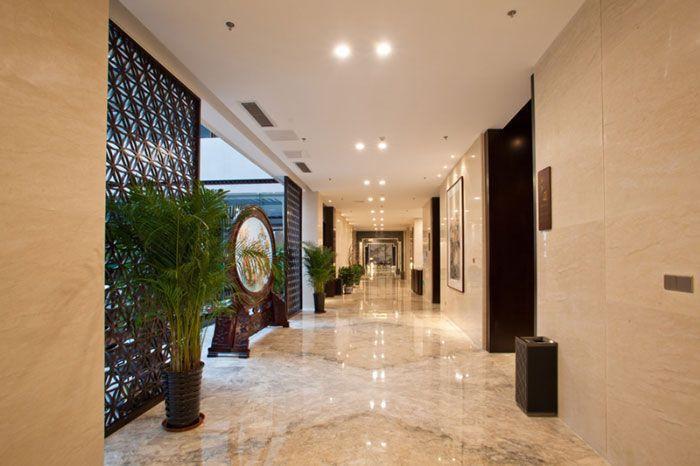 假日酒店室内装修效果图 - 过道走廊