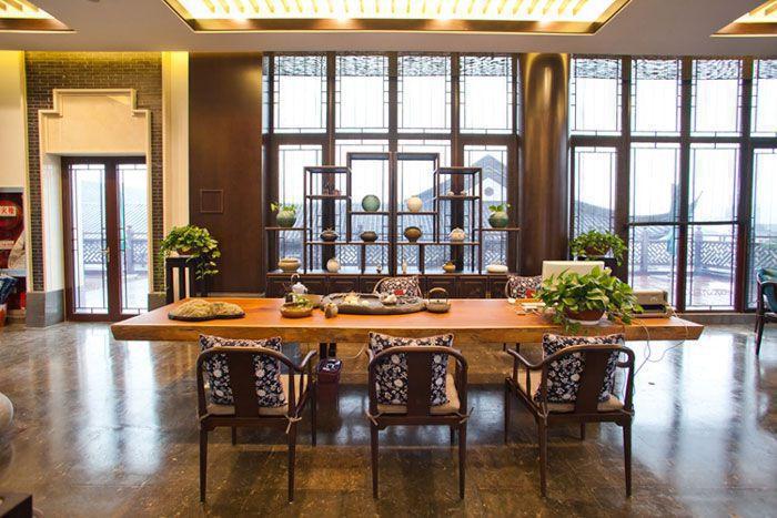 假日酒店室内装修效果图 - 茶桌