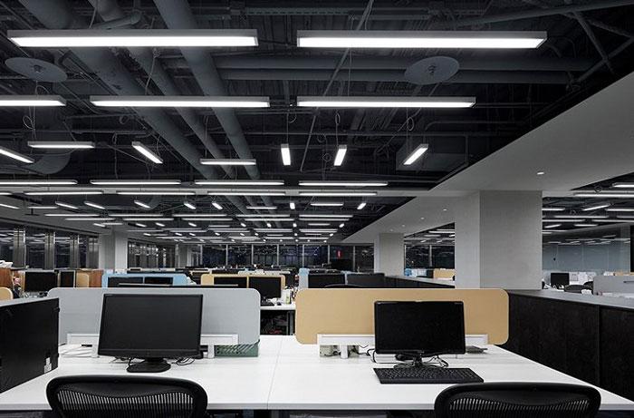 公司室内设计效果图 - 办公区域