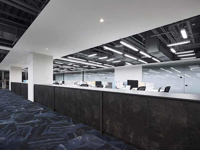 公司室内设计效果图 - 整体空间