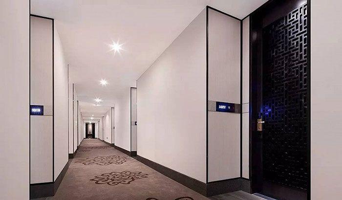 成都酒店设计客房过道