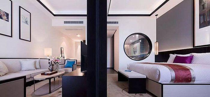 成都酒店设计豪华客房