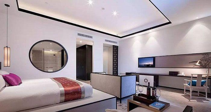 成都酒店设计客房效果图