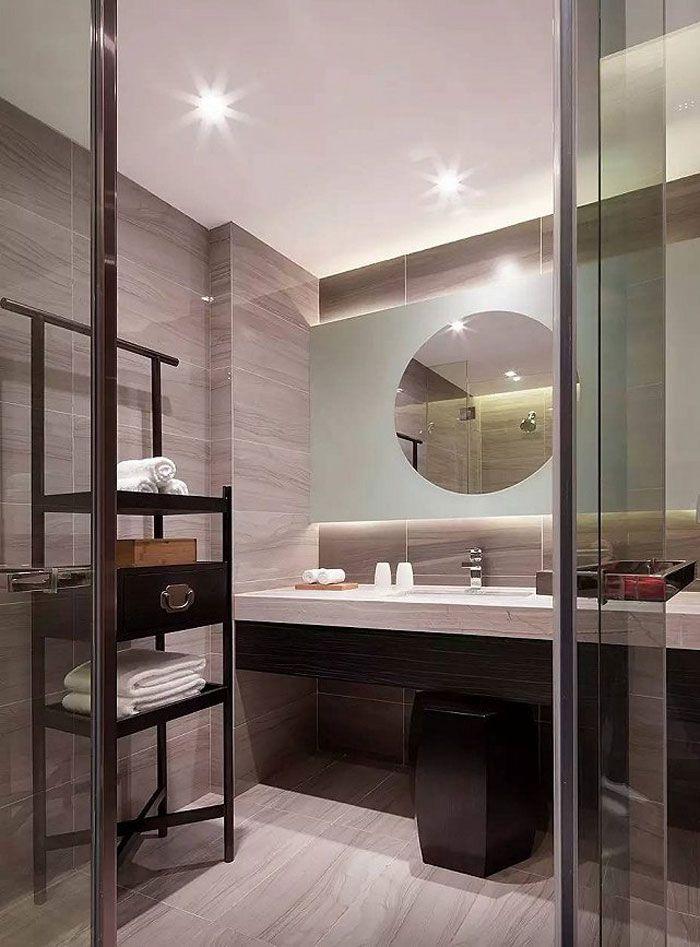 成都酒店设计客房洗手间