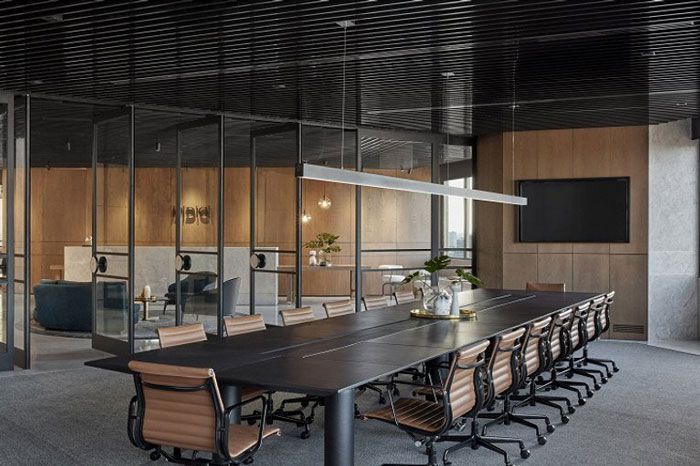 成都装修公司办公室装修会议室