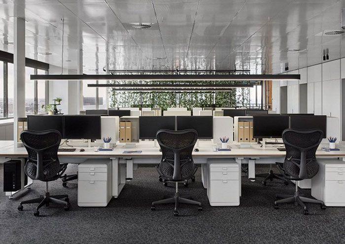 成都装修公司办公室装修办公区域