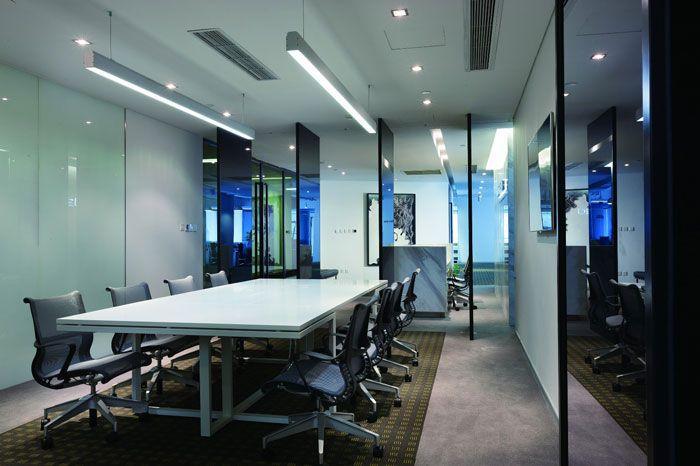 商务公司装修效果图会议室