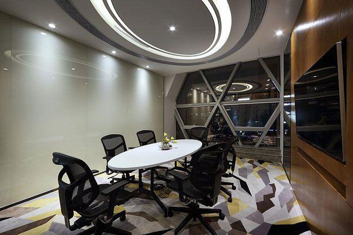 办公室室内装饰接待室