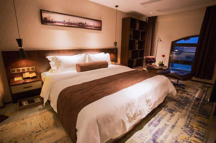 成都设计装修酒店大床房