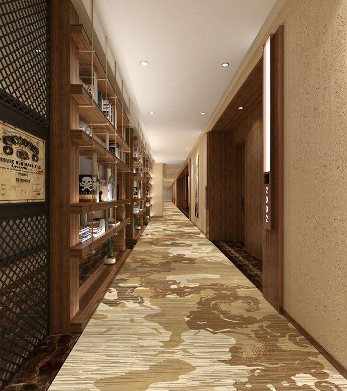 成都设计装修酒店客房走廊