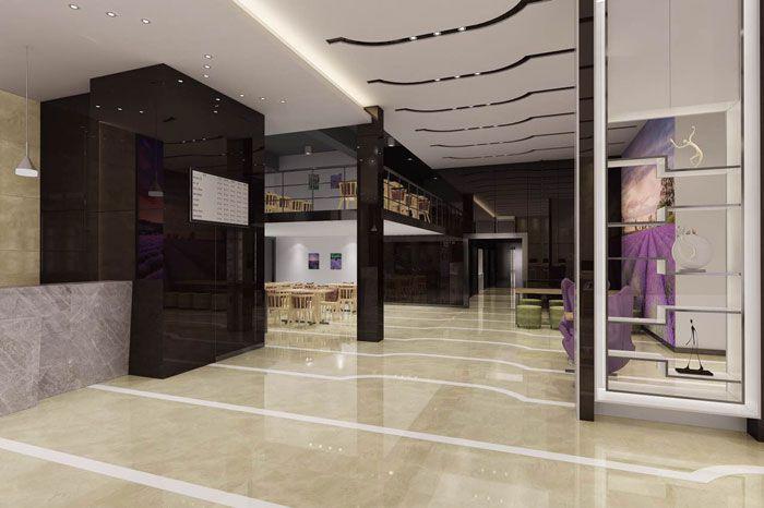 麗枫酒店装修效果图欣赏大堂过道
