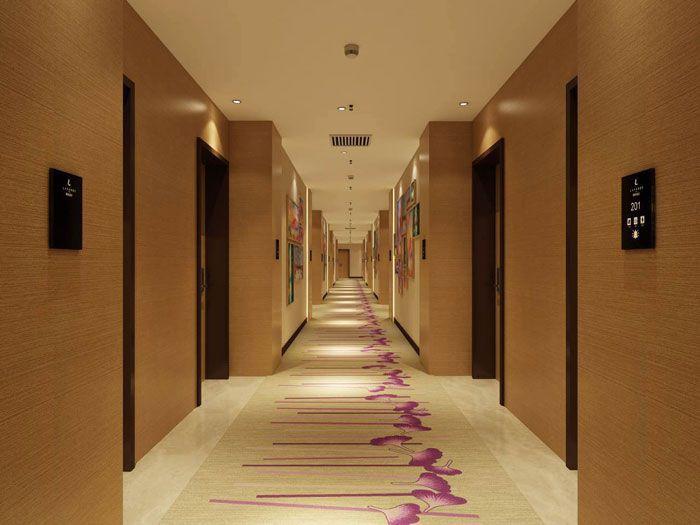 麗枫酒店装修效果图欣赏客房走廊