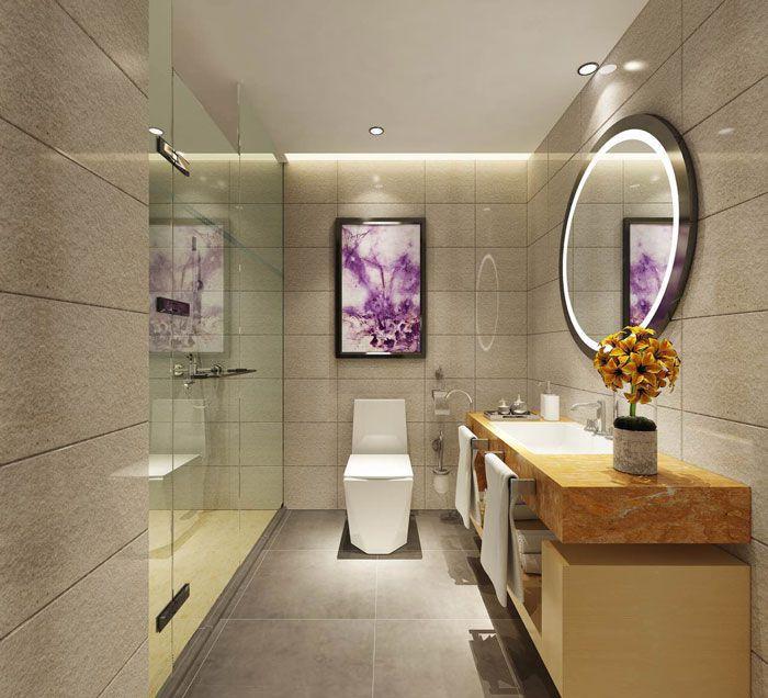 麗枫酒店装修效果图欣赏客房卫生间