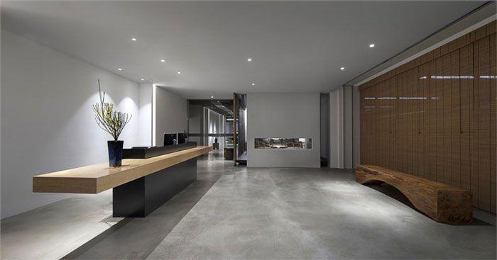 简洁现代办公室装修设计图