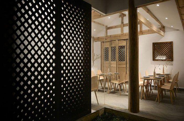 客栈餐厅装修设计效果图