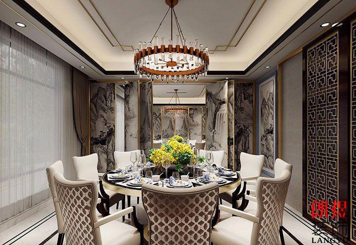 酒店装修设计效果图中餐包房