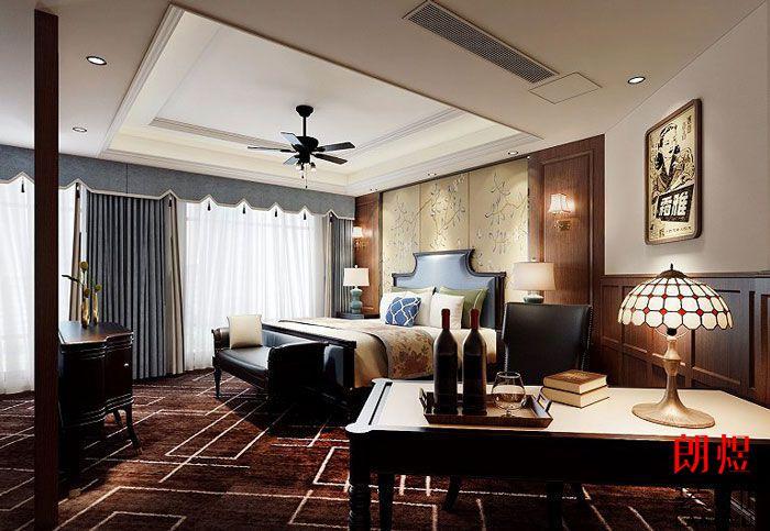 酒店装修设计效果图豪华单人间