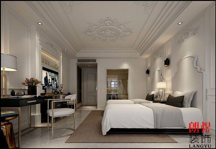 酒店装修设计效果图标准间