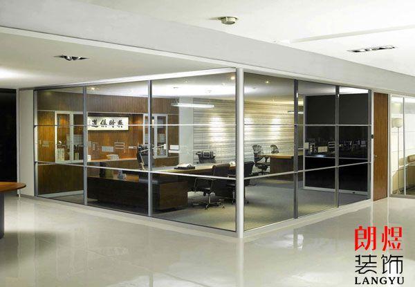 办公室高隔间玻璃隔断怎么选?