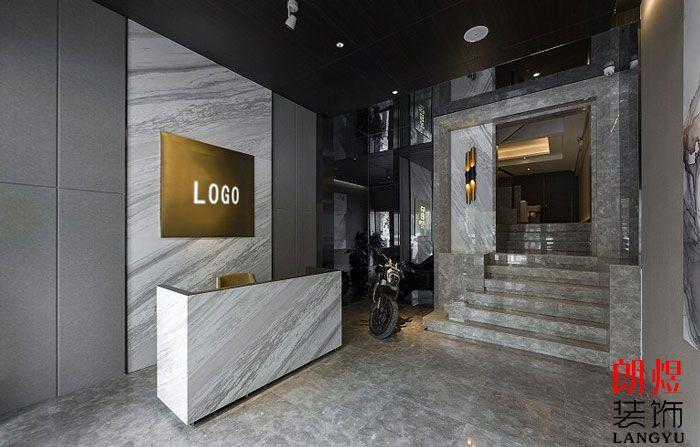 新中式(大理石)办公空间装修效果图
