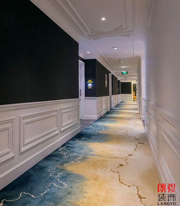 艺术酒店走廊效果图