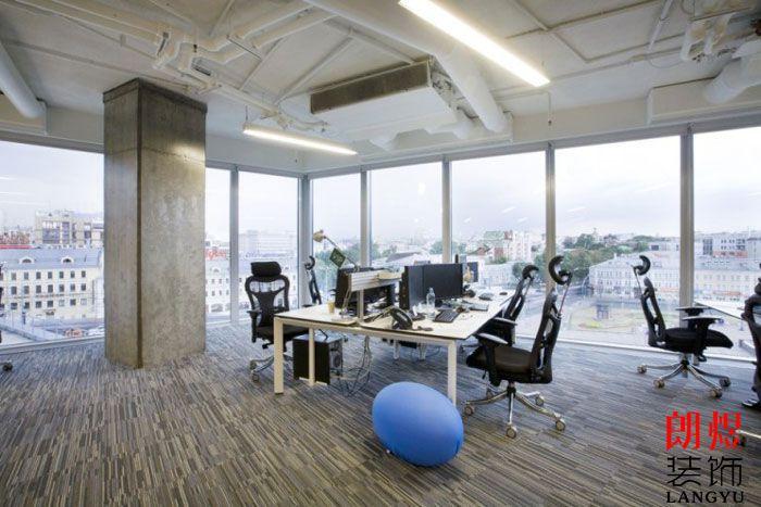 现代环保办公室装修办公位