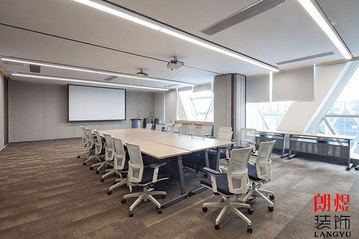 基金公司办公室装修效果图会议室