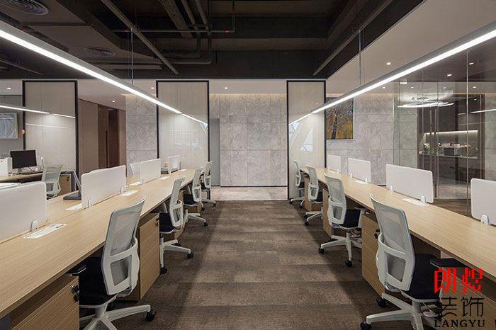 基金公司办公室装修效果图办公空间