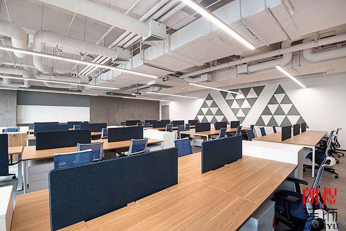 办公空间设计效果图办公区域