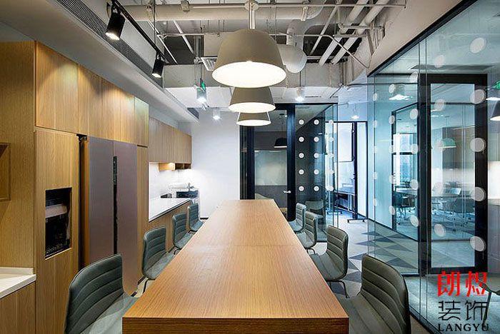 办公空间设计效果图水吧及会议室